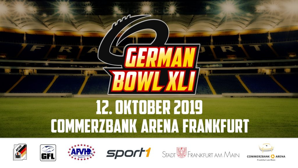 GERMAN BOWL 2019
